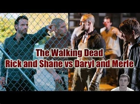 The Walking Dead - Daryl and Merle vs Rick and Shane