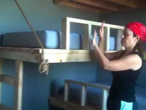 Twin Beds Hung from Wall (Pt 5) - YouTube