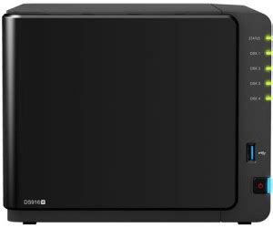 Synology DiskStation DS916+ 4-Bay (2GB) ab 1