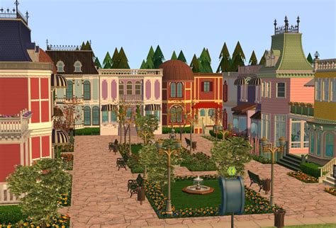 Mod The Sims - Victorian Town Square