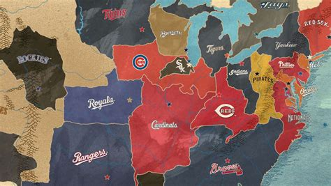 A Map of the United Countries of Baseball   Big Think
