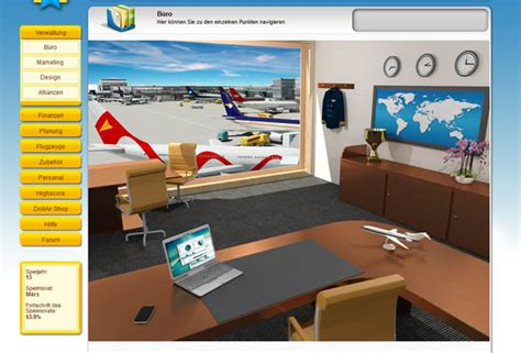 Airline Company Browsergame - Kostenlos Airline Company