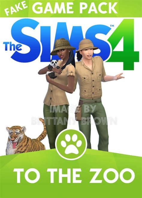 Sims 4 To The Zoo Game Pack