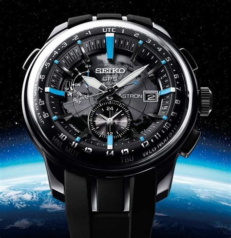 """Seiko Astron GPS """"Stratosphere"""" Watch - Unfinished Man"""