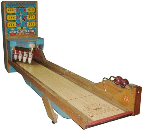 Sell your coin-op big ball bowler machine for the most