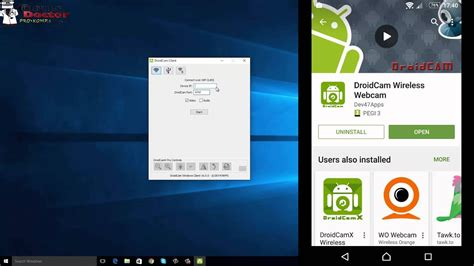 How to use an Android phone as a WebCam [DroidCam Wireless
