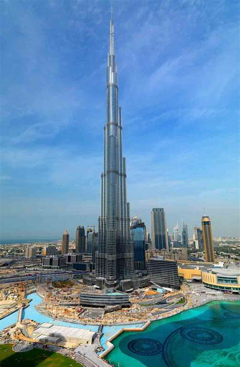 Burj Khalifa, Reach At the Top of World Number One Tallest