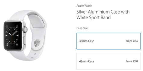 Apple Watch Series 1 Price Drop: $90-$120, Aluminum Only