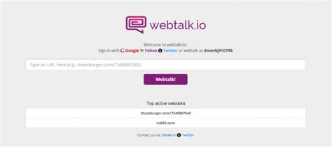 Chat Service Lets Users Chat in Real-Time on Any Website