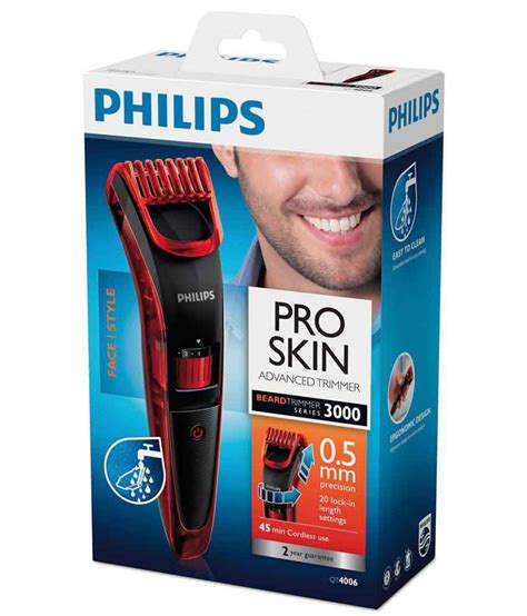 Buy Philips QT4006/15 Pro Skin Advanced Trimmer Online at