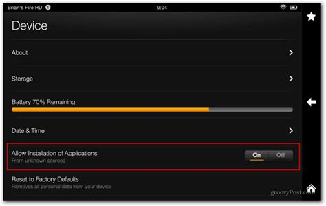 How To Install YouTube on Kindle Fire HD - groovyPost