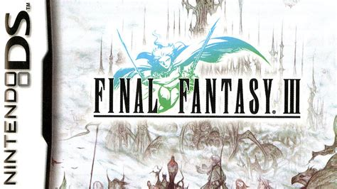 CGR Undertow - FINAL FANTASY III review for Nintendo DS