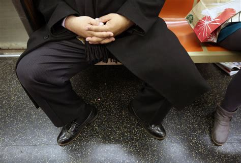 'Manspreading' on New York Subways Is Target of New M