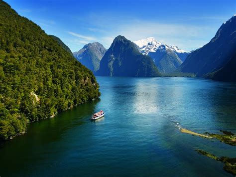 Milford Sound Coach & Nature Cruise, Milford Sound, New