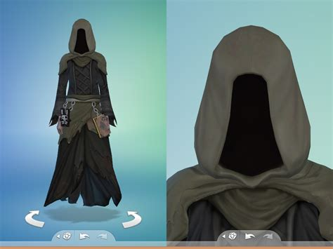 Grim Reaper Costume by Snaitf - Teh Sims