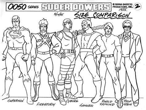 Super Powers Team: Galactic Guardians model reference