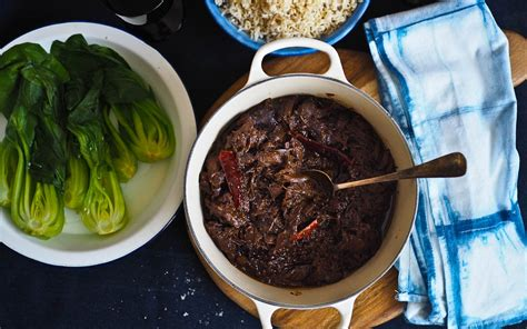 Easy Asian Style Beef Cheeks @ Not Quite Nigella
