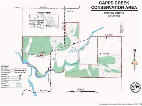 Capps Creek Conservation Area - Maplets