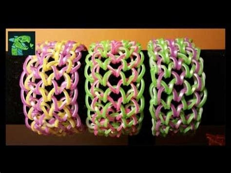 Dragon Scale Cuff Bracelet on Monster Tail - EASY * 6 Pegs