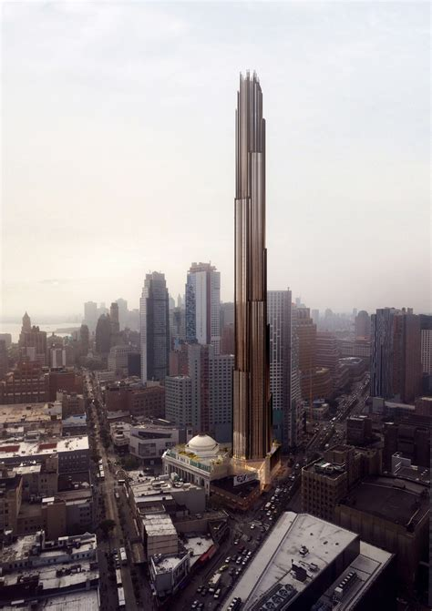 Slender towers rise to dizzying heights on NYC skyline