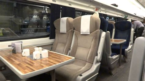 east coast trains first class seating - london to