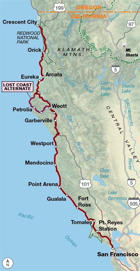 Pacific Coast | Adventure Cycling Route Network