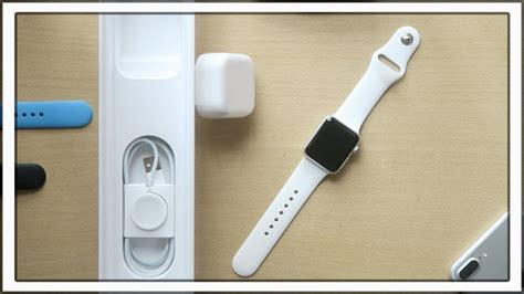 Unboxing Apple Watch Series 2 38mm Silver - YouTube
