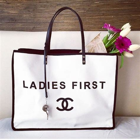 Chanel Ladies First Shopper Tote | Bragmybag