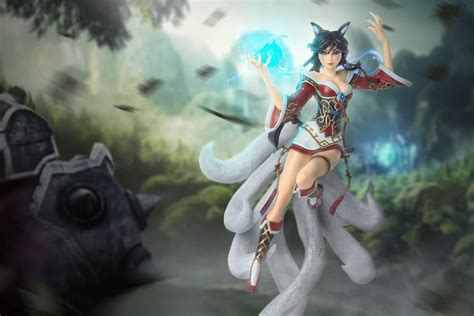Ahri's A New Dawn figure re-enters the League store after