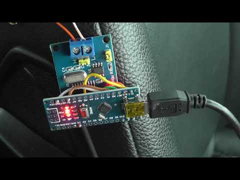 Humidity_temperature (DHT11) using CAN MCP2515